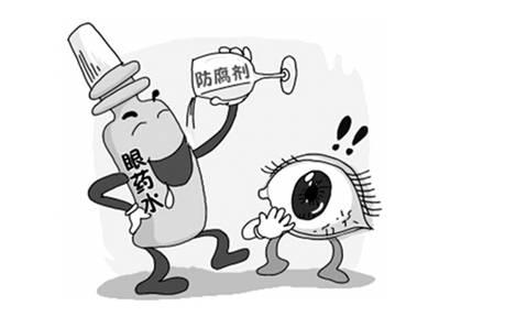误区三:滴眼药水可以恢复视力图片