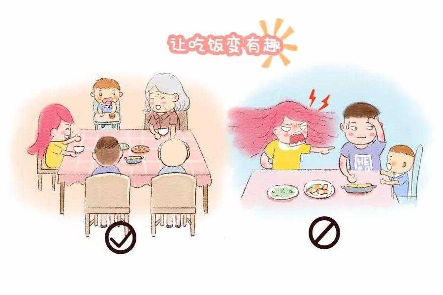 让宝宝自己吃饭,父母应该怎么做