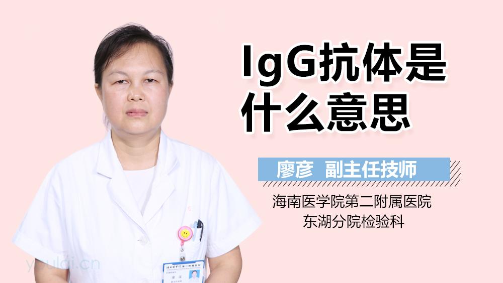 风疹病毒是什么意思_IgG是什么意思-有来医生